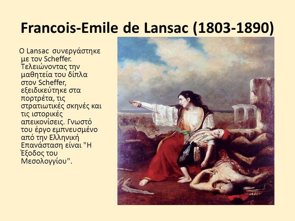 Francois-Emile de Lansac (1803-1890)