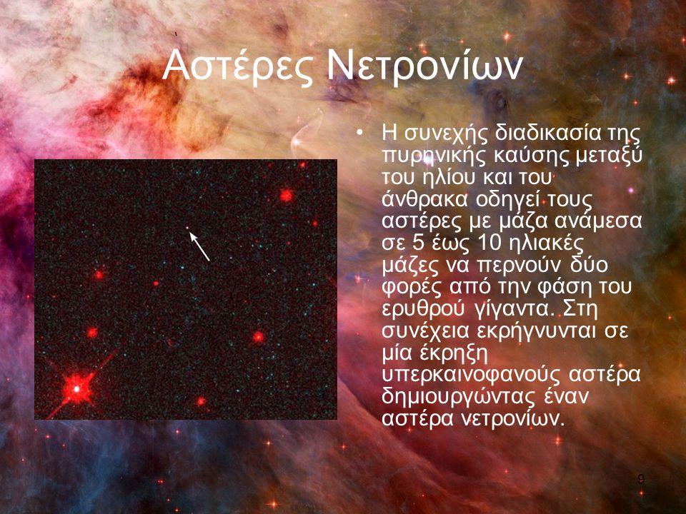 Αστέρες Νετρονίων