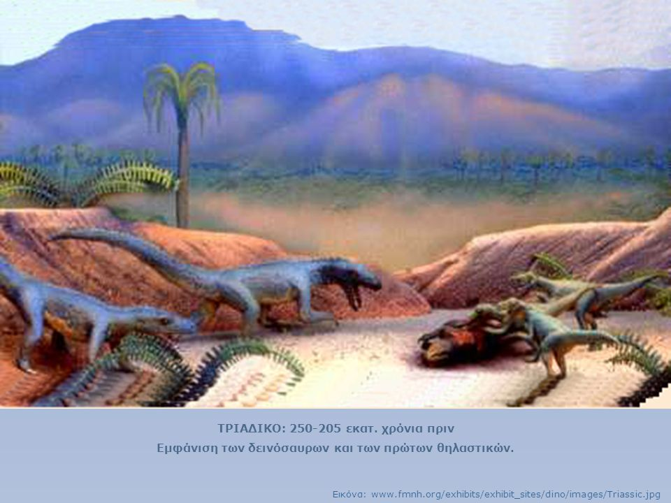 ΤΡΙΑΔΙΚΟ: 250-205 εκατ. χρόνια πριν