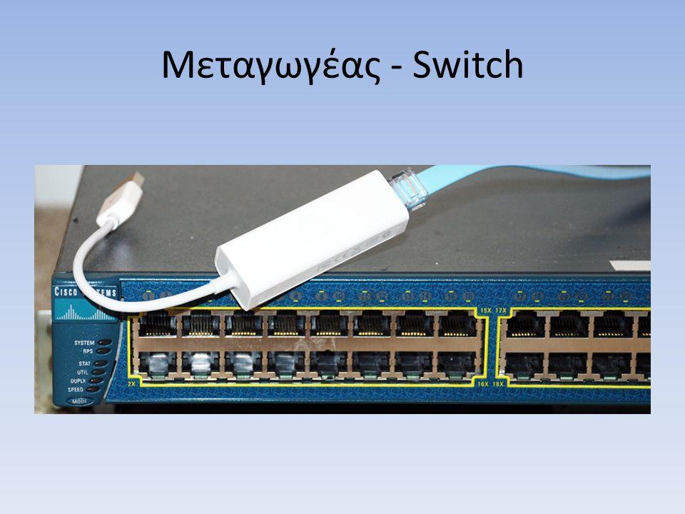 Μεταγωγέας - Switch
