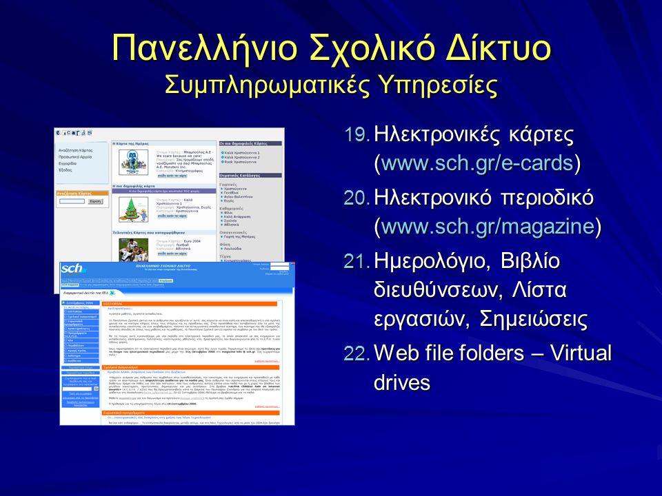 Πανελλήνιο Σχολικό Δίκτυο Συμπληρωματικές Υπηρεσίες