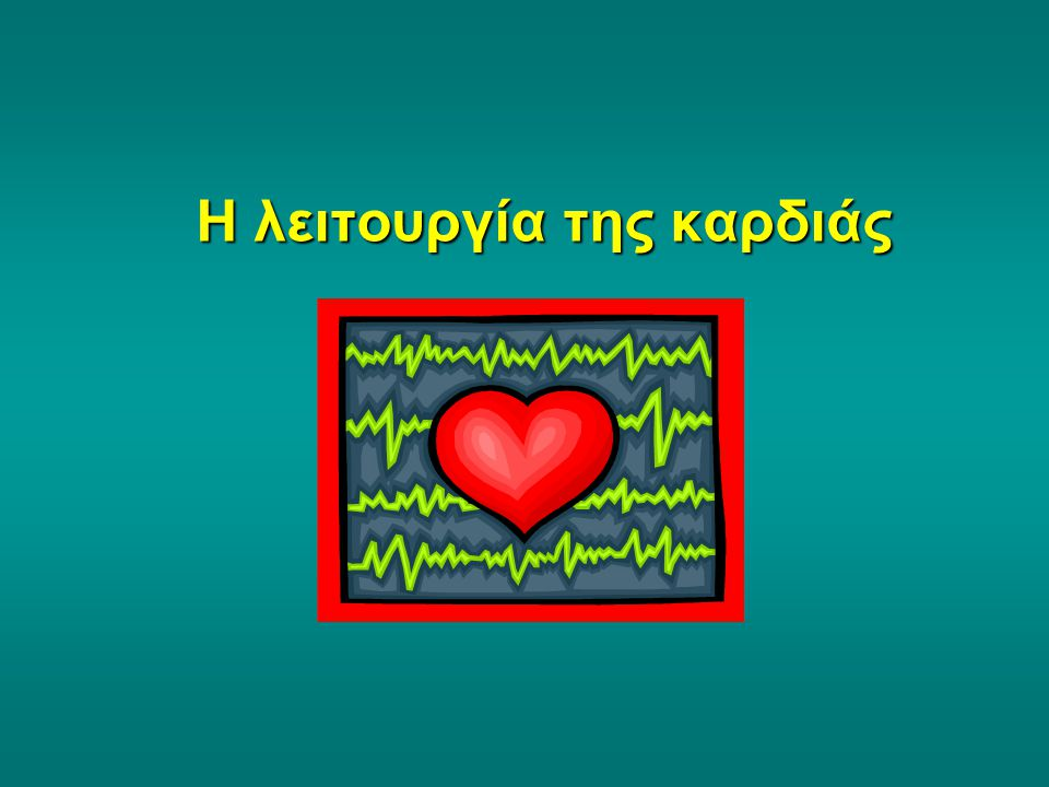 Η λειτουργία της καρδιάς