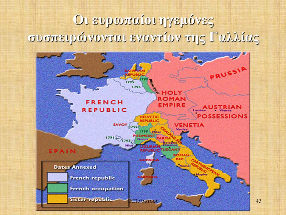 Οι ευρωπαίοι ηγεμόνες συσπειρώνονται εναντίον της Γαλλίας