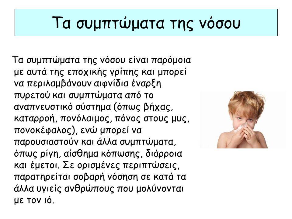 Τα συμπτώματα της νόσου