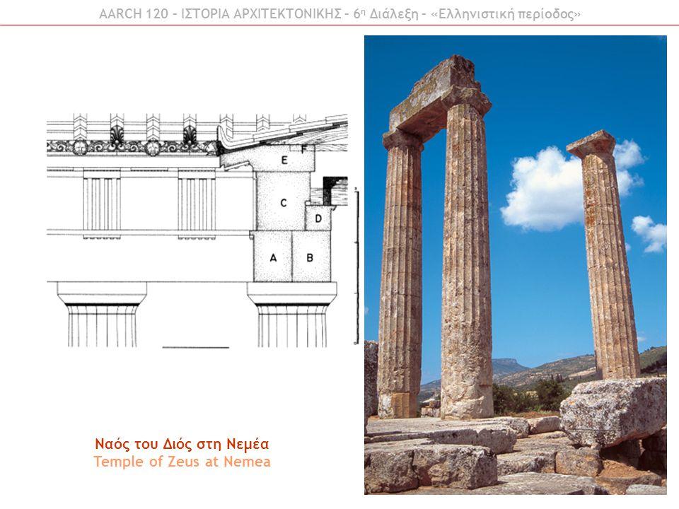 Ναός του Διός στη Νεμέα Temple of Zeus at Nemea