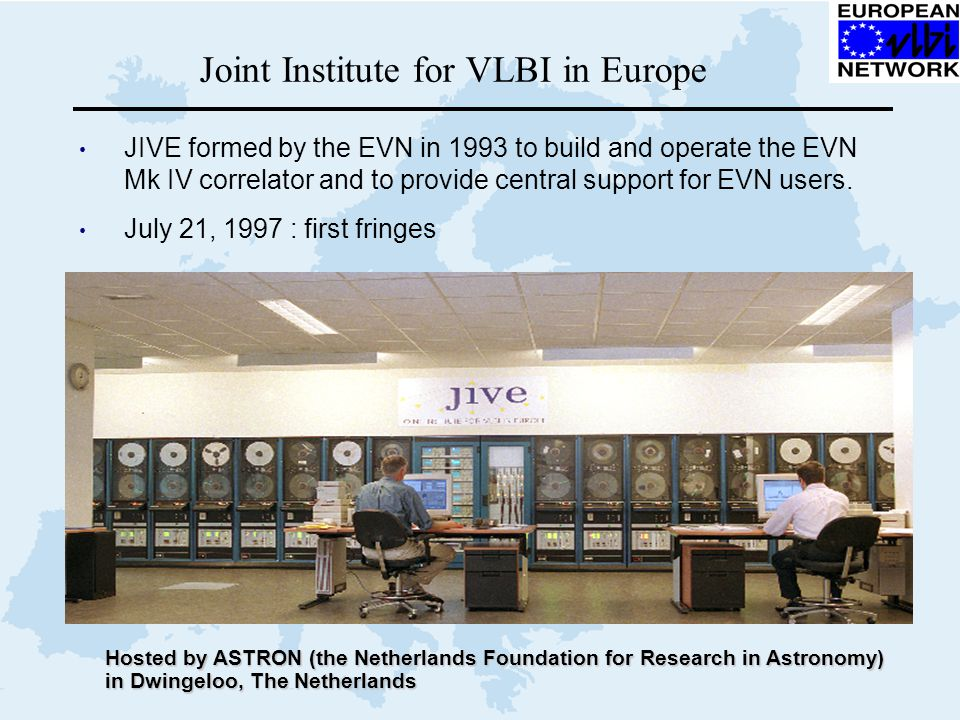 Joint Institute for VLBI in Europe