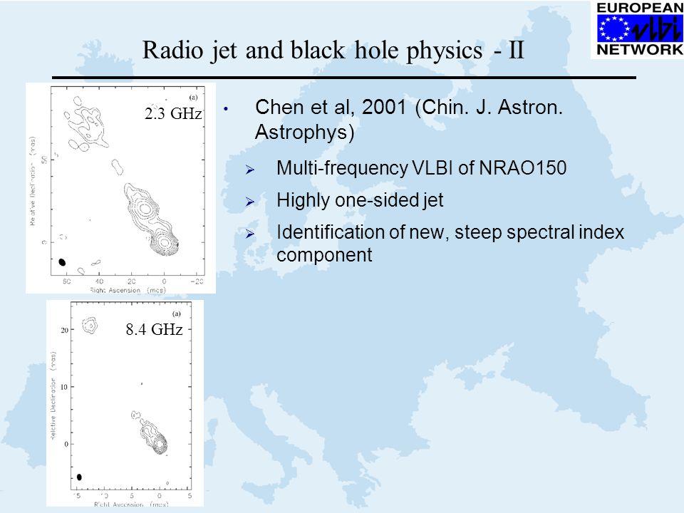 Radio jet and black hole physics - II