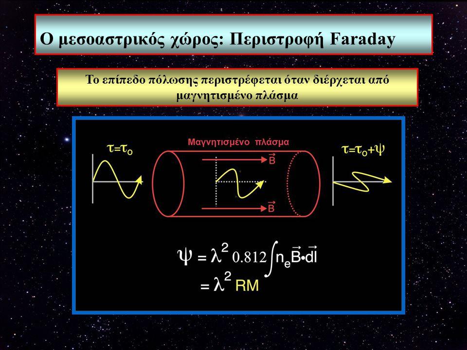 Ο μεσοαστρικός χώρος: Περιστροφή Faraday