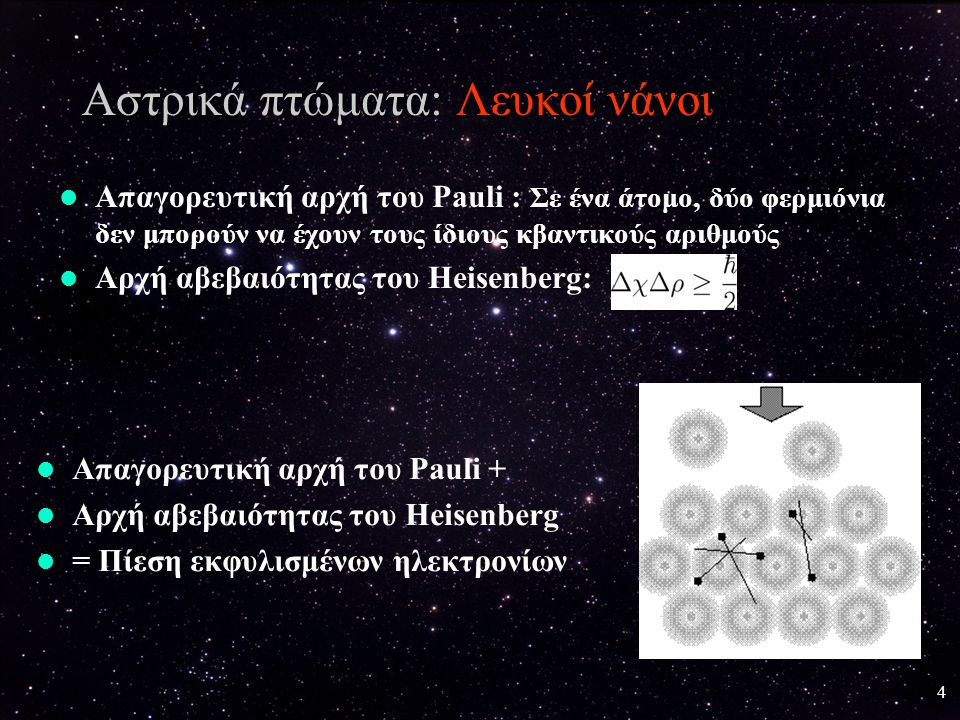 Αστρικά πτώματα: Λευκοί νάνοι