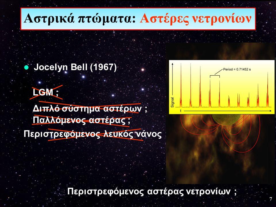 Αστρικά πτώματα: Αστέρες νετρονίων