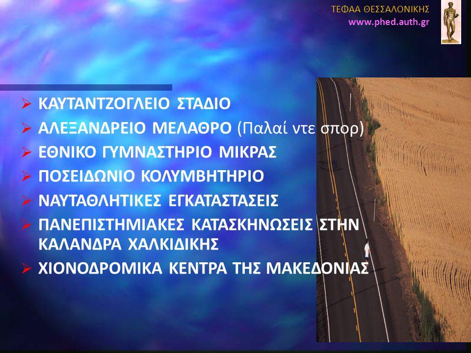 ΚΑΥΤΑΝΤΖΟΓΛΕΙΟ ΣΤΑΔΙΟ ΑΛΕΞΑΝΔΡΕΙΟ ΜΕΛΑΘΡΟ (Παλαί ντε σπορ)