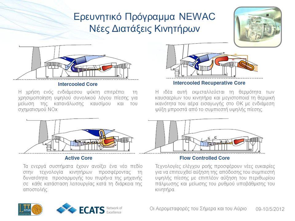 Ερευνητικό Πρόγραμμα NEWAC Νέες Διατάξεις Κινητήρων