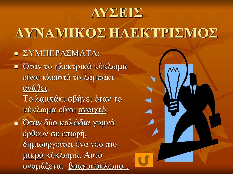 ΔΥΝΑΜΙΚΟΣ ΗΛΕΚΤΡΙΣΜΟΣ