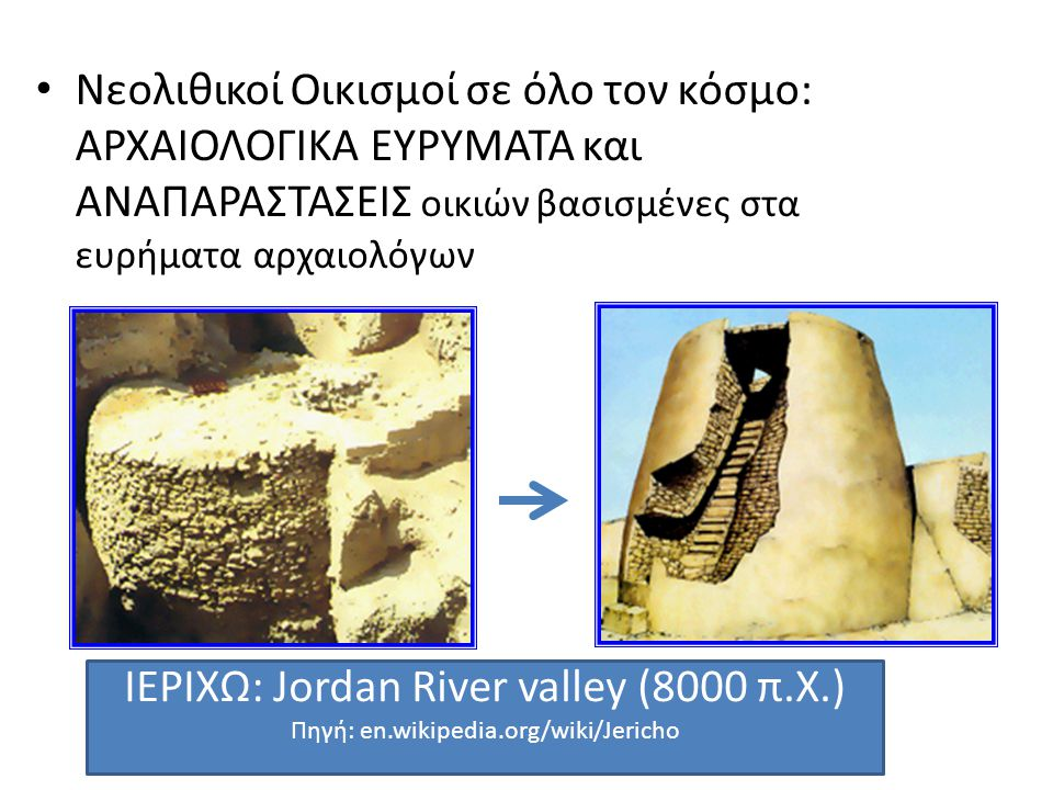 ΙΕΡΙΧΩ: Jordan River valley (8000 π.Χ.)