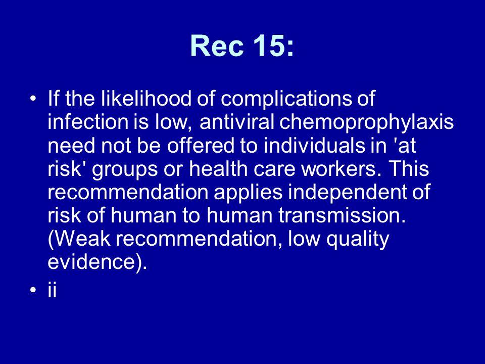 Rec 15: