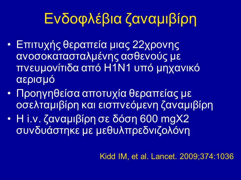 Ενδοφλέβια ζαναμιβίρη