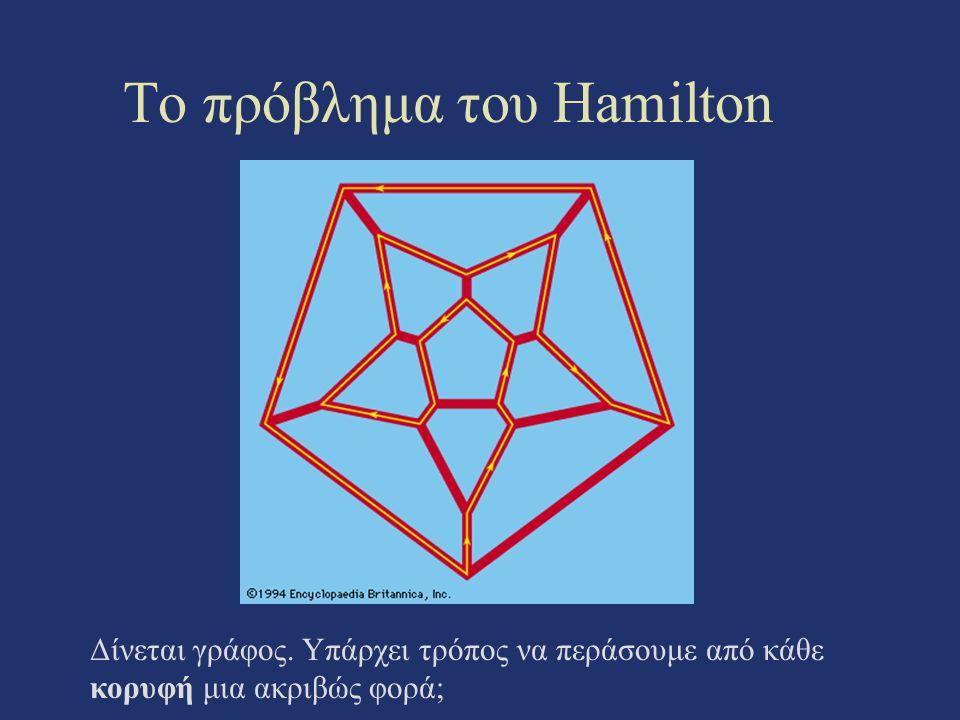 Το πρόβλημα του Hamilton