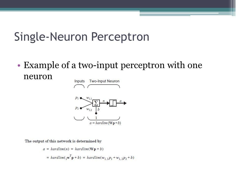 Single-Neuron Perceptron