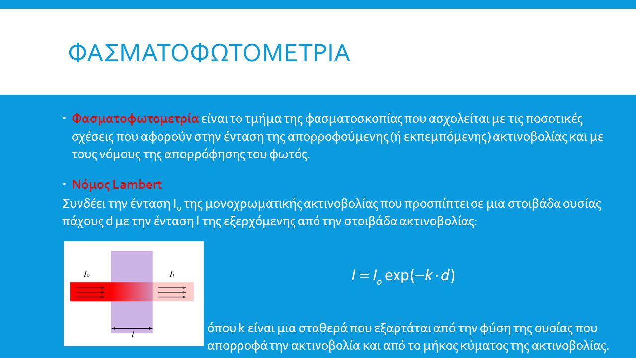 Φασματοφωτομετρια