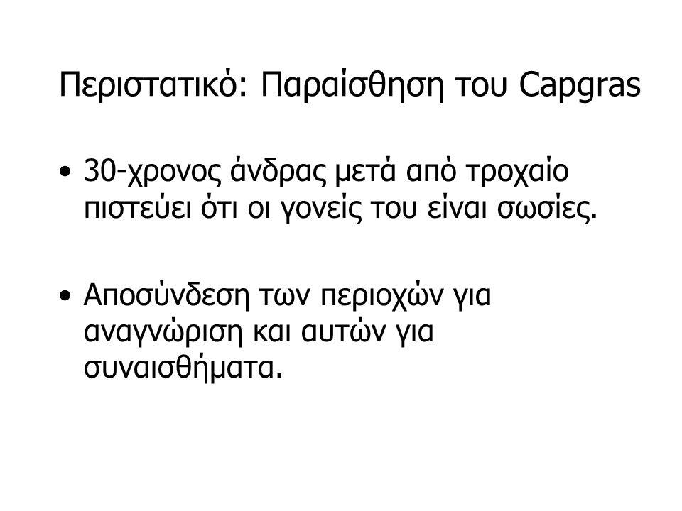 Περιστατικό: Παραίσθηση του Capgras