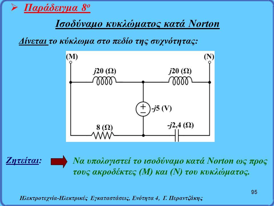 Ισοδύναμο κυκλώματος κατά Norton