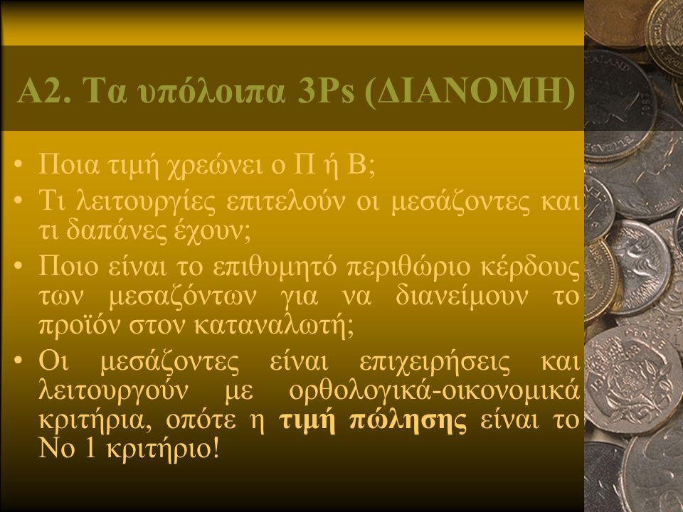 Α2. Τα υπόλοιπα 3Ps (ΔΙΑΝΟΜΗ)
