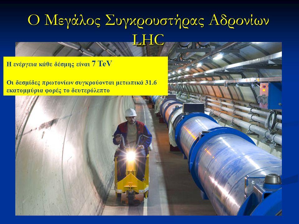 O Μεγάλος Συγκρουστήρας Αδρονίων LHC