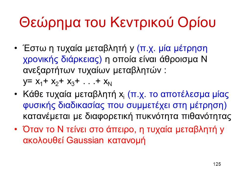 Θεώρημα του Κεντρικού Ορίου