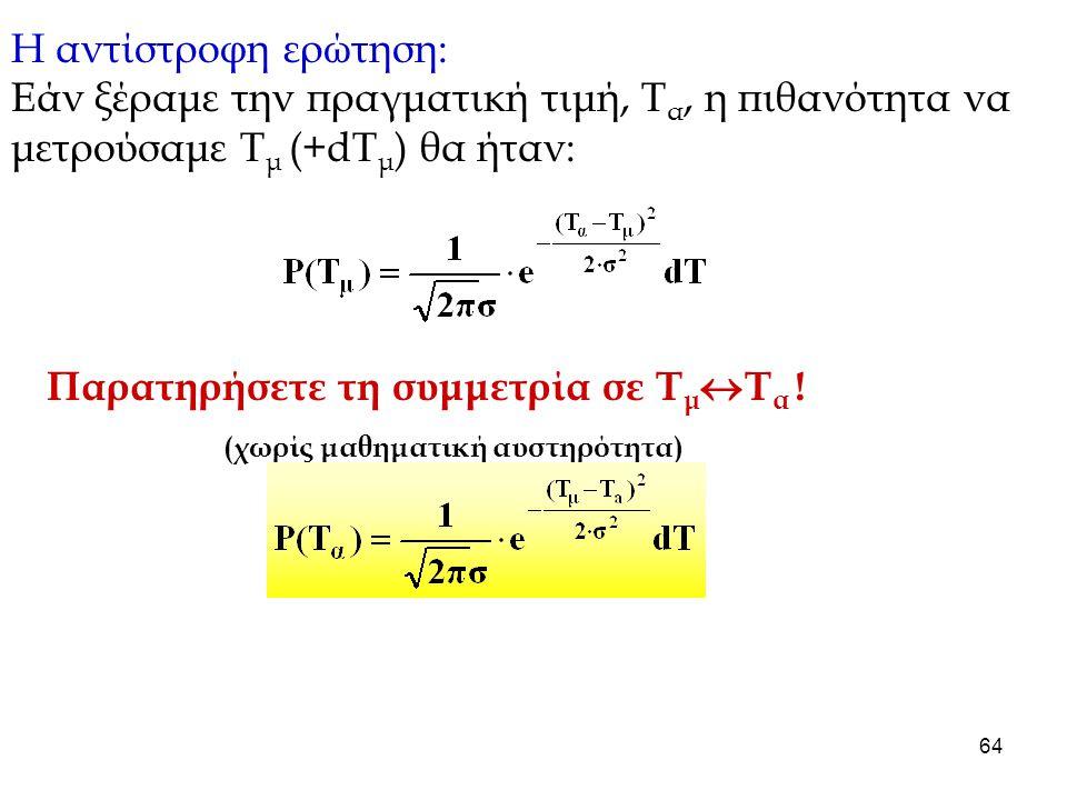 (χωρίς μαθηματική αυστηρότητα)