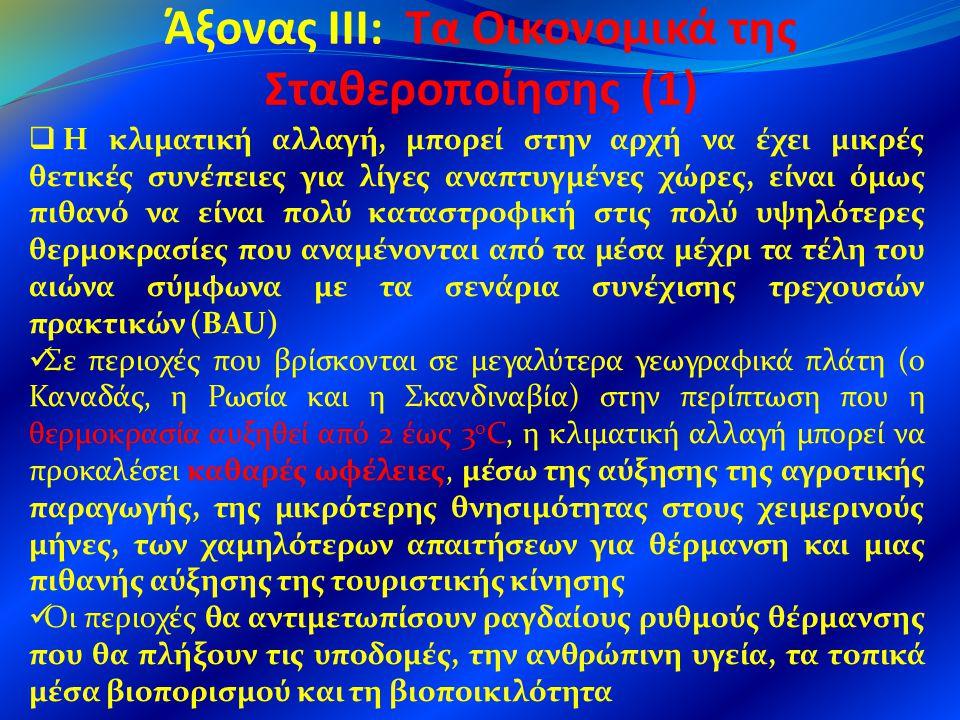Άξονας III: Τα Οικονομικά της Σταθεροποίησης (1)