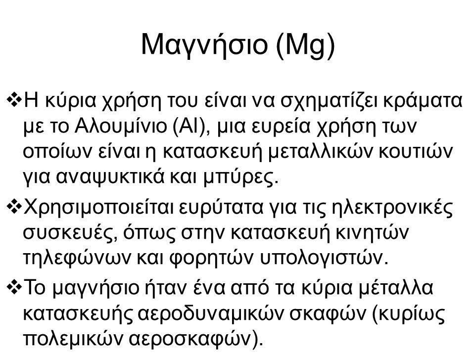 Μαγνήσιο (Mg)