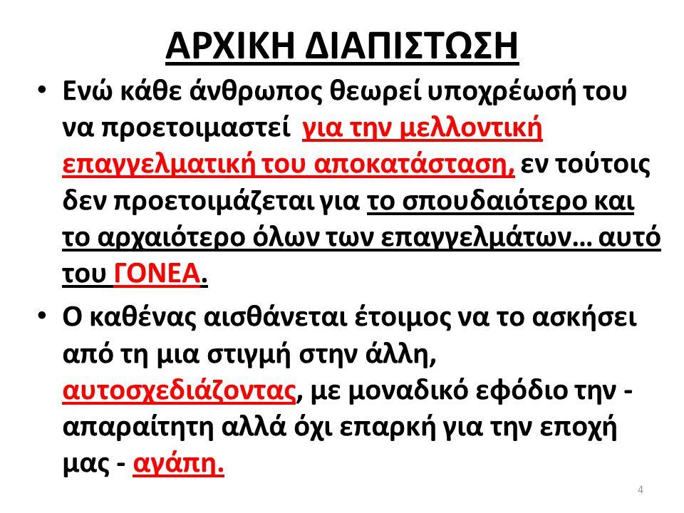 ΑΡΧΙΚΗ ΔΙΑΠΙΣΤΩΣΗ