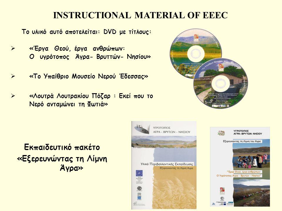 INSTRUCTIONAL MATERIAL OF EEEC