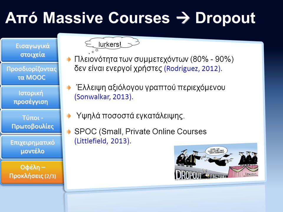 Από Massive Courses  Dropout