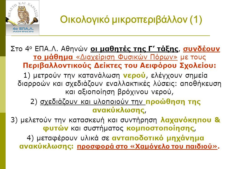 Οικολογικό μικροπεριβάλλον (1)