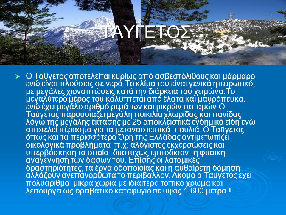 ΤΑΥΓΕΤΟΣ