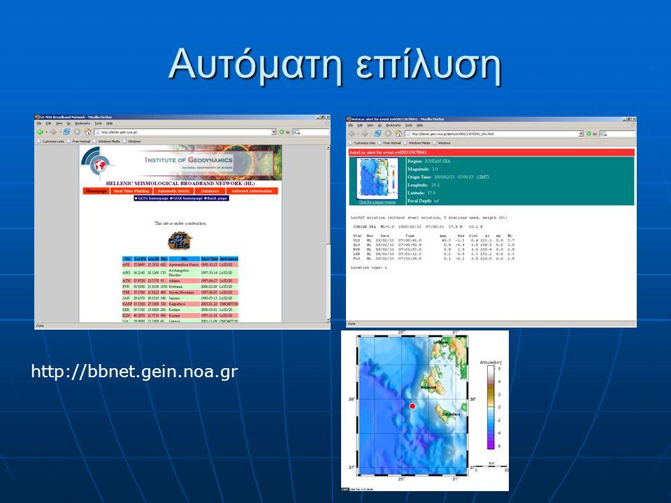 Αυτόματη επίλυση http://bbnet.gein.noa.gr