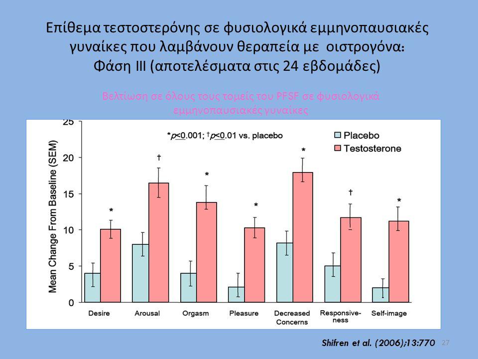 Φάση III (αποτελέσματα στις 24 εβδομάδες)