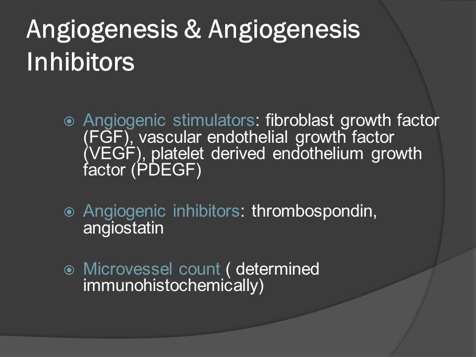 Angiogenesis & Angiogenesis Inhibitors