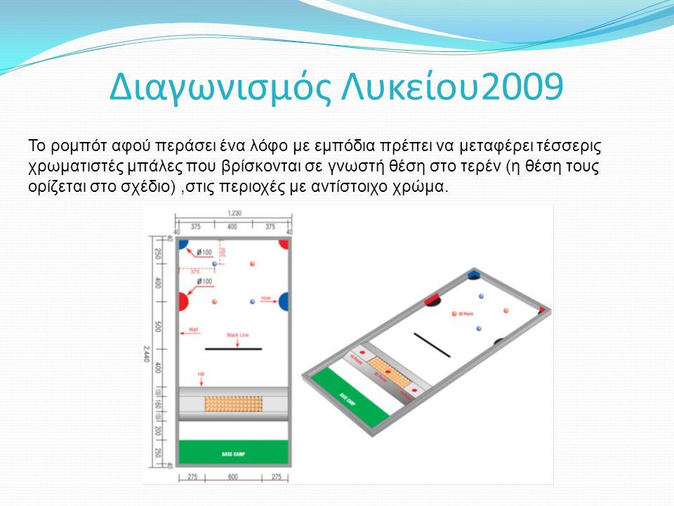 Διαγωνισμός Λυκείου2009