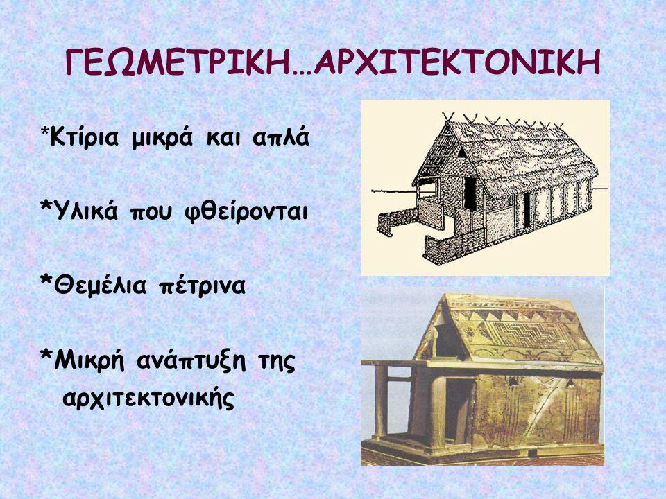 ΓΕΩΜΕΤΡΙΚΗ…ΑΡΧΙΤΕΚΤΟΝΙΚΗ