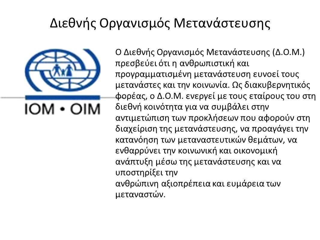Διεθνής Οργανισμός Μετανάστευσης