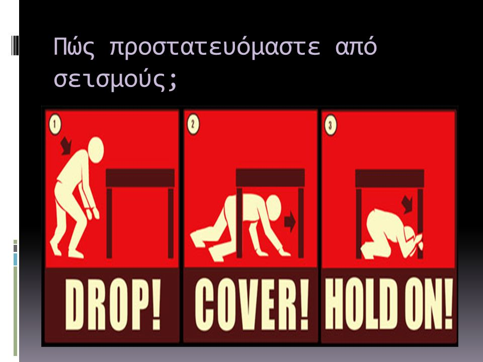 Πώς προστατευόμαστε από σεισμούς;