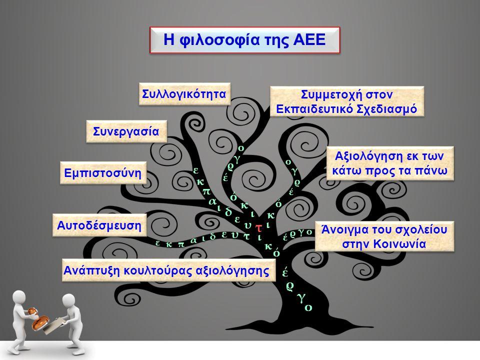 Η φιλοσοφία της ΑΕΕ τ έ ρ γ ο Συλλογικότητα