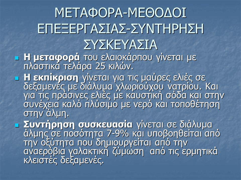 ΜΕΤΑΦΟΡΑ-ΜΕΘΟΔΟΙ ΕΠΕΞΕΡΓΑΣΙΑΣ-ΣΥΝΤΗΡΗΣΗ ΣΥΣΚΕΥΑΣΙΑ