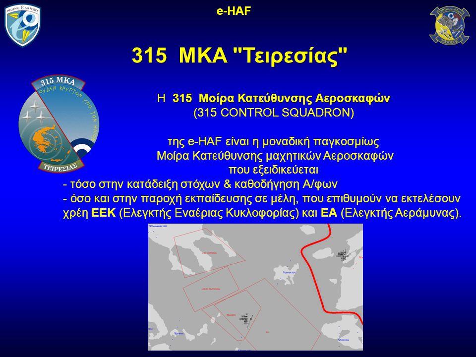 315 ΜΚΑ Τειρεσίας e-HAF H 315 Μοίρα Κατεύθυνσης Αεροσκαφών