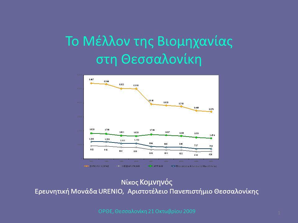 Το Μέλλον της Βιομηχανίας στη Θεσσαλονίκη