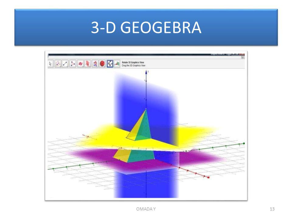 3-D GEOGEBRA OMADA Y