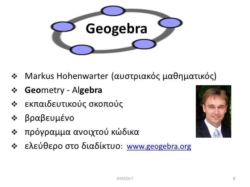 Geogebra Markus Hohenwarter (αυστριακός μαθηματικός)