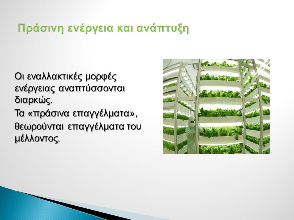 Πράσινη ενέργεια και ανάπτυξη